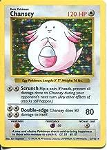 chansey pokemon card 3 102