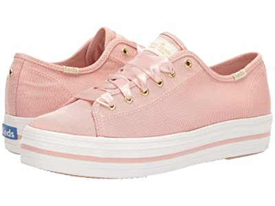 Keds x kate spade new york Triple Kick (Blush Faille) Women
