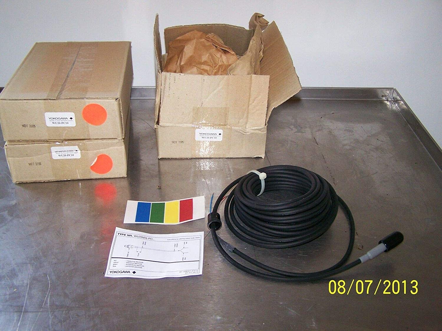 sold out Max 46% OFF labtechsales Yokogawa WU20-PC10 Coax Cable Electro PH for Single
