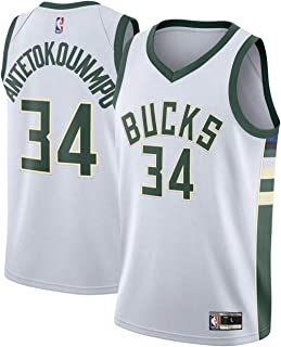 Youth Giannis Antetokounmpo Milwaukee Bucks White Replica Jersey