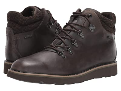 Rockport Storm Front Waterproof Alpine Boot (Dark Brown Leather) Men