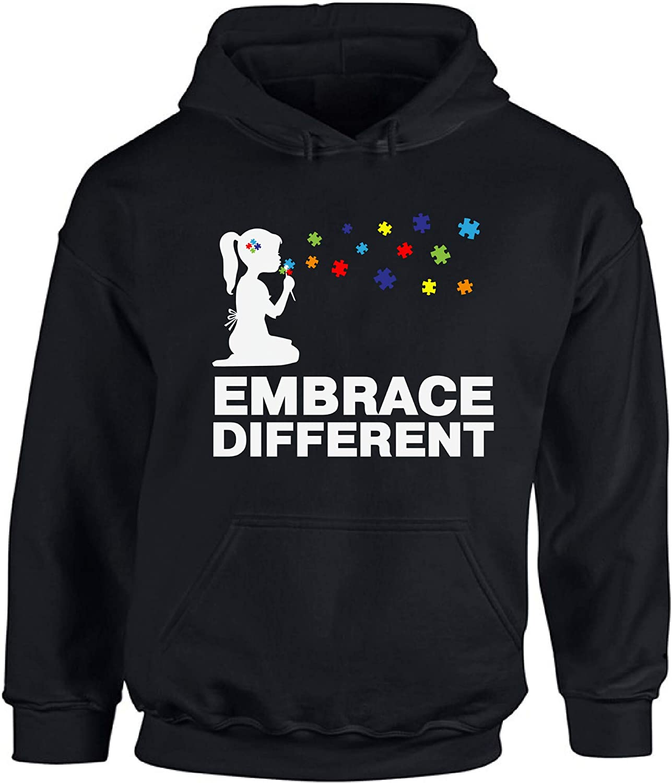 Awkward Styles Autism Awareness Hooded Sweatshirt Embrace Autism Hoodie Sweater
