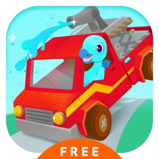 Fire Truck Rescue Free - Fire fighter & Driving Simulator Games for kids