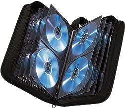 Hama - Estuche porta CD para 80 CD/DVD/Blu-rays, portafolios