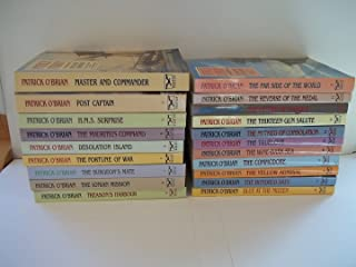 19 Book Set: The Aubrey Maturin Series - Master and Commander, Post Captain, HMS Surprise, The Mauritius Command, Desolation Island, The Fortune of War, The Surgeon's Mate, The Ionian Mission, Treason's Harbour, The Far Side of the World + 9 More (The Aubrey - Maturin Series Set, Vol. 1, 2, 3, 4, 5, 6, 7, 8, 9, 10, 11, 12, 13, 14, 15, 16, 17, 18, 19)