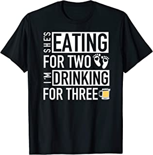 eating for two drinking for two shirts
