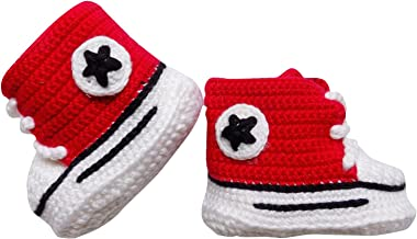 So Sydney Girls Boys Crochet Novelty Fall Shoes Baby Infant Boots Crib Shoe