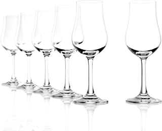 Stolzle Classic Collection Clear Lead-Free Crystal Port Euro Brandy Glass, 6.75 Ounce, Set of 6