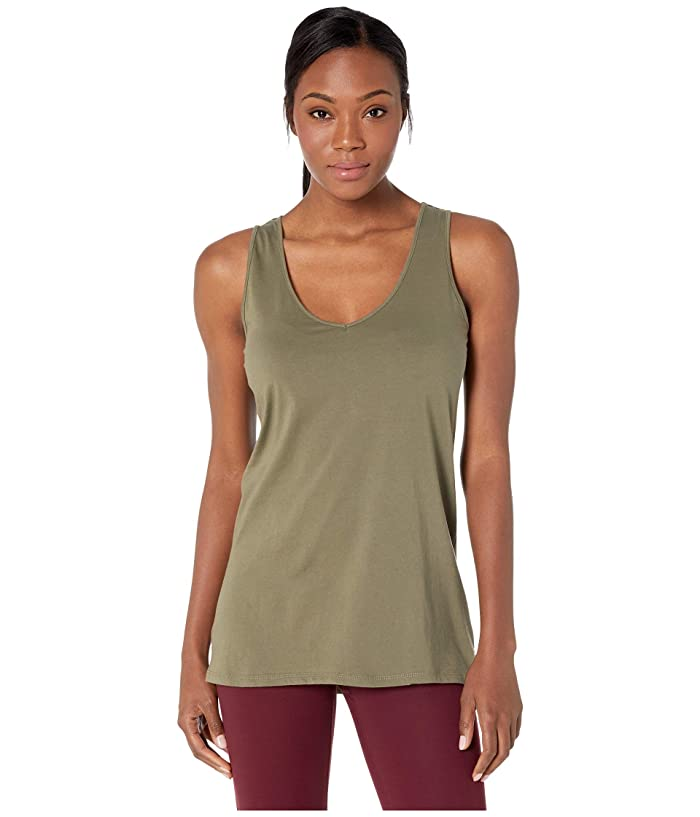 Carve Designs Renata Tank Top (Olive) Women