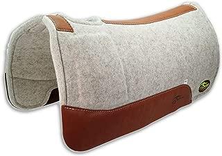 Southwestern Equine OrthoRide Roper Soft Hit Dally Shim 100% Natural Wool 1