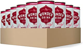 Wonder Drink Kombucha, Organic Cherry Sparkling Fermented Tea, 8.4oz Can (Pack of 24)