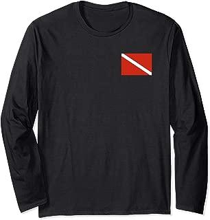 Diver Down Dive Flag T-Shirt Scuba Diving Tee