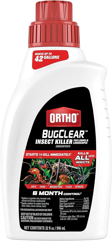 業界No.1 Ortho BugClear Insect Killer Landscapes トラスト Lawns for Concentrate