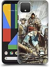 Official Assassin's Creed Edward Kenway Black Flag Key Art Hard Back Case Compatible for Google Pixel 4