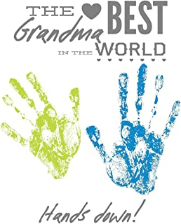The Best Grandma In the World: DIY Handprint and Activity Booklet