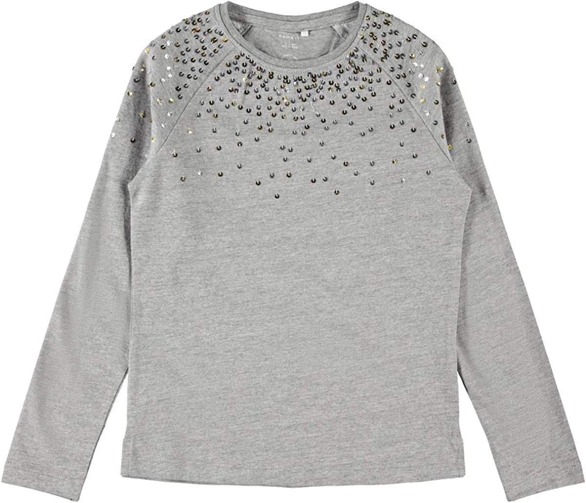 NAME IT M/ädchen Nkfreka Ls Top T-Shirt