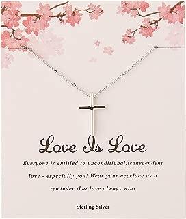 Best little girl cross necklace Reviews