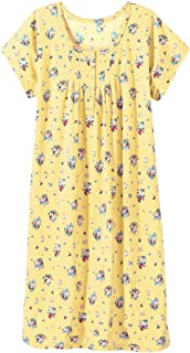 cotton short sleeve dressing gown