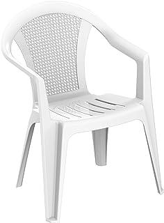 Duramax plástico de bambú con reposabrazos, sillas para Interiores y Exteriores, jardín, Patio, Comedor, hogar y Fiesta, D...