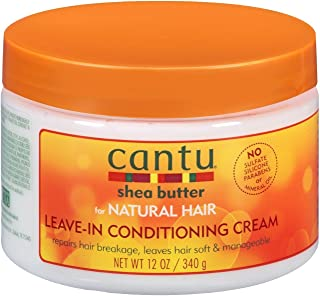 Cantu Shea Butter for Natural Hair Leave In Conditioning Repair Cream, 12 oz/340 gm