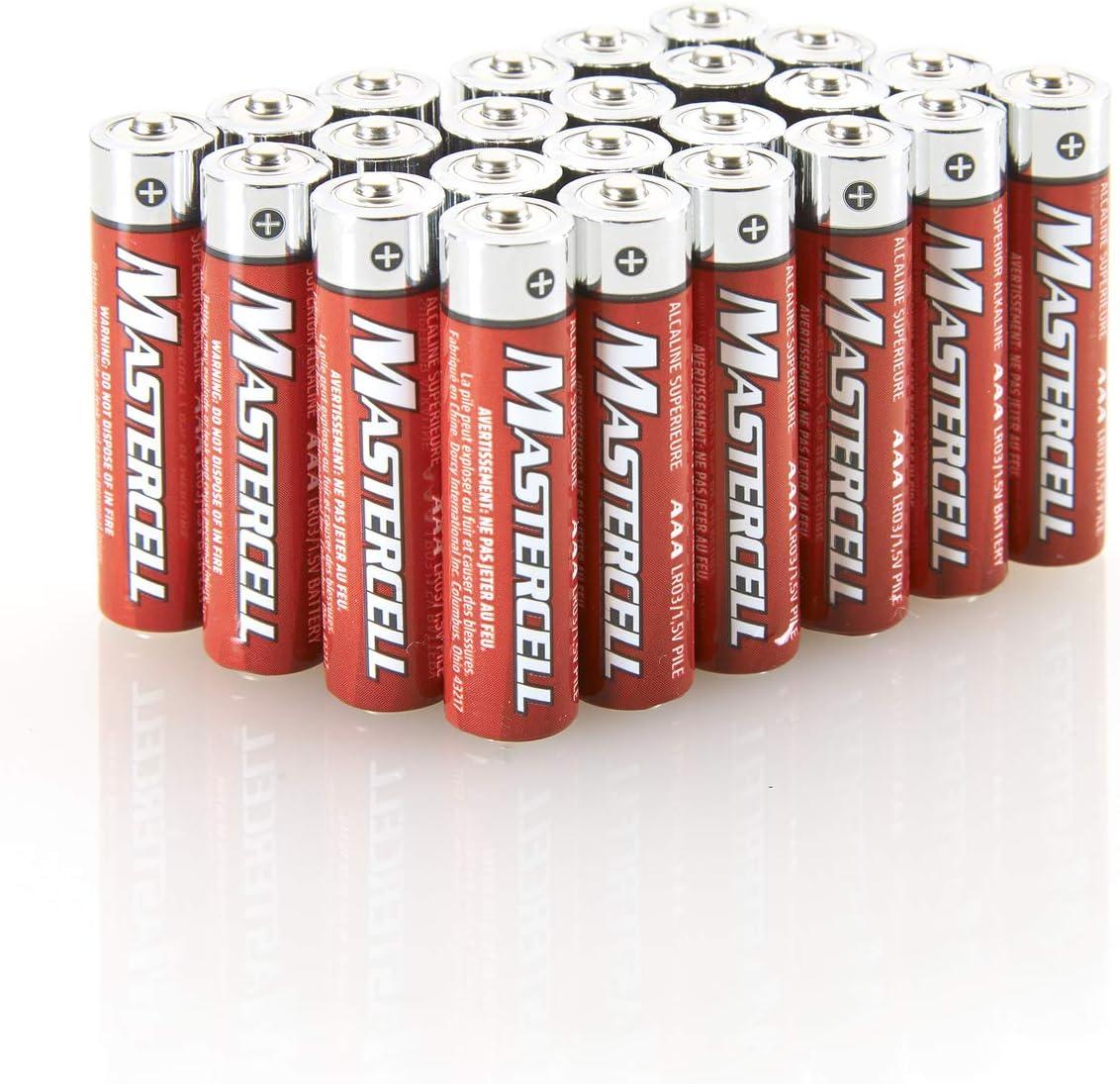 Dorcy Over item handling ☆ Elegant Mastercell AAA Alkaline 41-1636 24-Pack Batteries