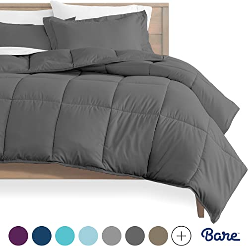 Bare Home Kids Comforter Set - Twin/Twin Extra Long - Goose Down Alternative - Ultra-Soft - Premium 1800 Series - Hyp...