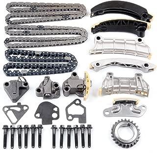 SCITOO Timing Chain Tensioner Kit fits for 1998 1999 2000 JAGUAR VANDEN PLAS JAGUAR XJR XJ8 4.0L V8