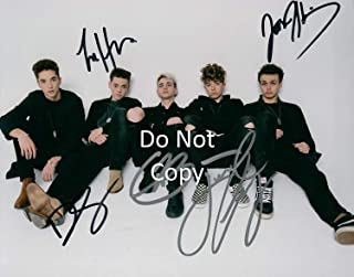 Why Don't We band reprint signed autographed 11x14 poster photo #1