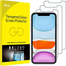 JETech Screen Protector for iPhone 11 and iPhone XR, 6.1-Inch, Tempered Glass Film, 3-Pack
