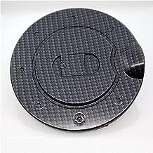 EAG 09-14 Ford F-150 Fuel Gas Door Cover Black Carbon Fiber Look ABS (66-2207CF)