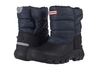 Hunter Kids Original Snow Boots (Little Kid/Big Kid) (Navy/Black) Kid