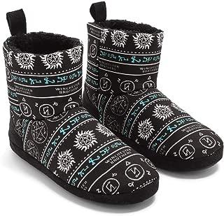Supernatural Symbols Slipper Boots
