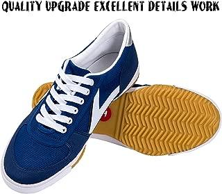 DOUBLESTAR MR Rubber Sole Light Parkour Stylish Shoes for Men/Women/Children|Kung Fu|Martial Art|Tai Chi Jogging Training Sneaker
