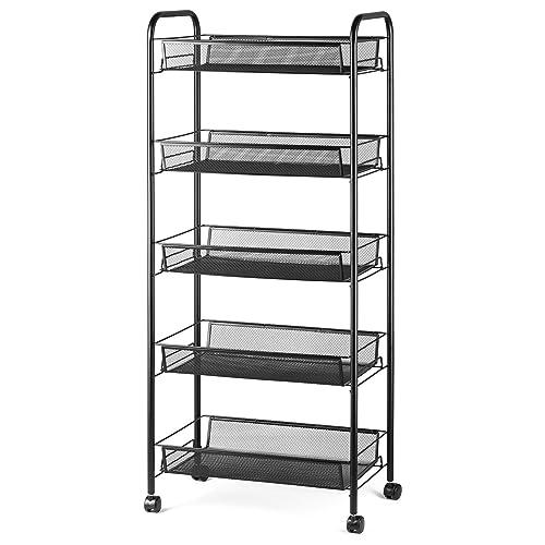 Marvelous Rolling Pantry Storage Carts Amazon Com Download Free Architecture Designs Fluibritishbridgeorg