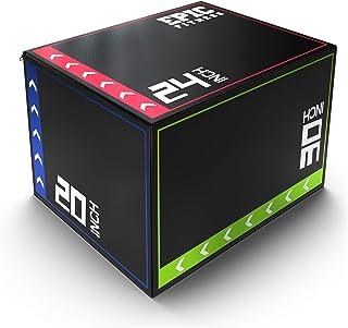 Epic Fitness 3-in-1 Foam Plyometric Jump Box -...