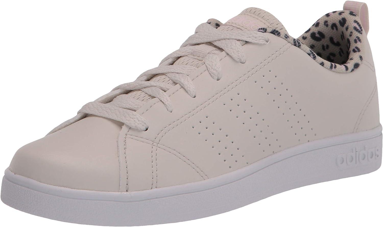 adidas VS Advantage Clean Shoes Kids', White, Size
