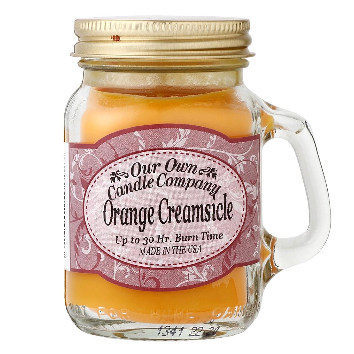 異邦人ミュートすることになっているOur Own Candle Company メイソンジャーキャンドル ミニサイズ オレンジクリームシルク OU200085