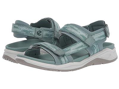 ECCO Sport X-Trinsic Strap Sandal (Trellis/Eggshell Blue) Women