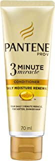 Pantene Pro-V 3 Minute Miracle Daily Moisture Renewal Conditioner, 70ml