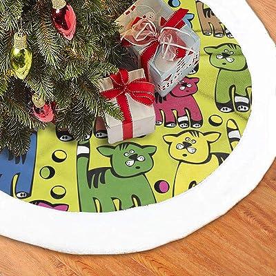 MYYXGS Falda De áRbol De Navidad Falda De áRbol De Navidad De ...