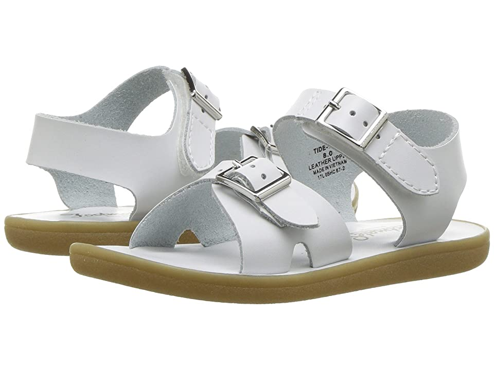 FootMates Tide (Infant/Toddler/Little Kid) (White) Kids Shoes