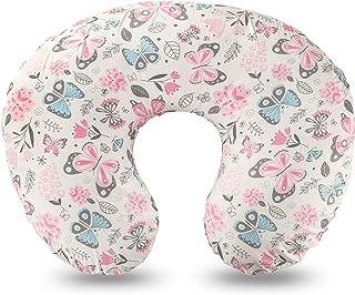 Nursing Pillow , Breastfeeding & Bottle Feeding Baby Support Pillow for Mom , Newborn Infant Snug Cotton Pillow Fits 0-12 ...