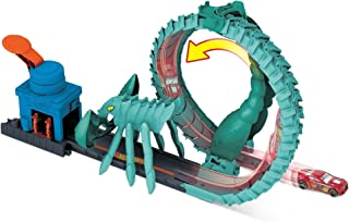 Hot Wheels Toxic Scorpion Attack Play Set for Kids 4 to 8 Years Old with One 1:64 Hot Wheels Car GTT67