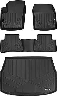 MAXLINER Floor Mats 2 Rows and Cargo Liner Set Black for 2018 Toyota C-HR