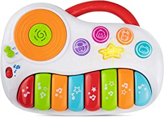 Toddler Piano, Learning Toy with DJ Mixer. Baby Musical Instruments for Educational Development. Electronic Play Piano. Kids Keyboard 1 - 5 Years Age