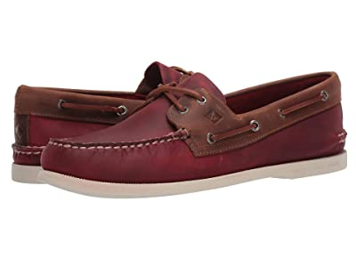 Sperry A/O 2-Eye Wild Horse (Oxblood/Riverboat) Men
