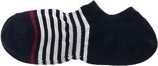MUJI - Men Organic Cotton Mix Right Angle Border Sneaker-In Socks (5 pairs)