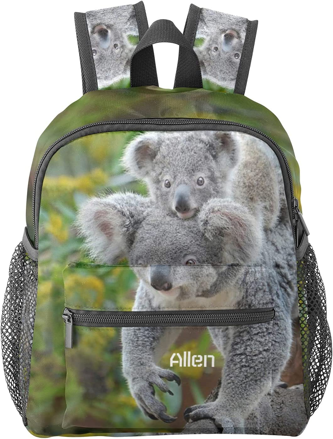 Animal Cash special price Sweet Koala Personalized Limited time trial price Backpa Waterproof Name Preschool