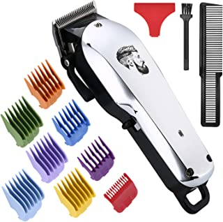 Professional Cordless Hair Clipper for Men Hair Haircuttings Kit Mustache Body Grooming Kit...