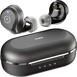 TOZO NC9 Hybrid Active Noise Cancelling Wireless Earbuds, ANC in Ear Headphones IPX6 Waterproof Bluetooth 5.0 TWS Stereo E...